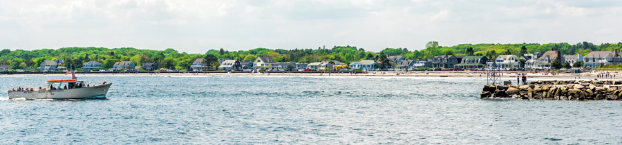 View of Kennebunkport from Water